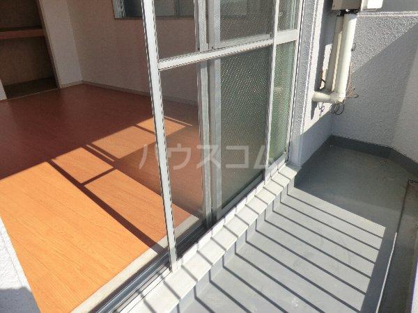 マンション横井 501号室のバルコニー