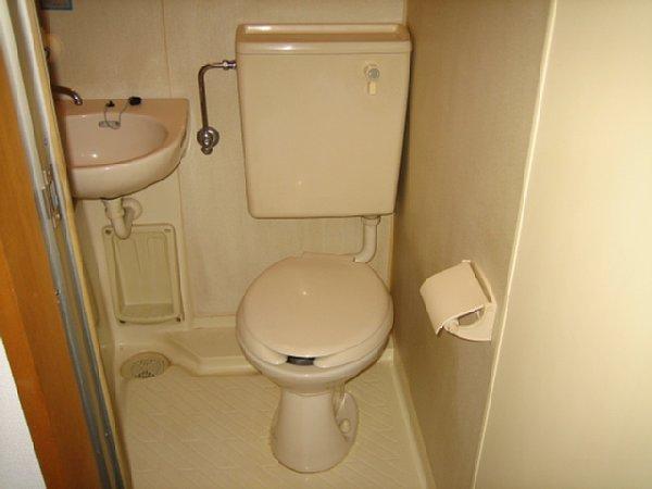 パリーマンションⅡ 304号室のトイレ