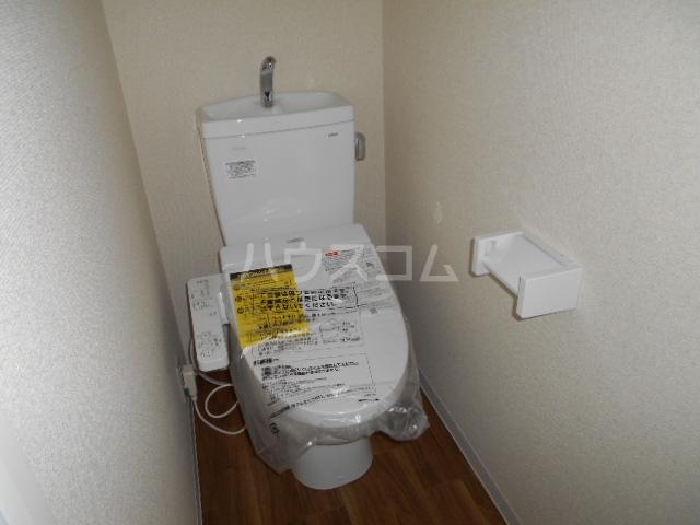 ラ・フォーレ 202号室のトイレ