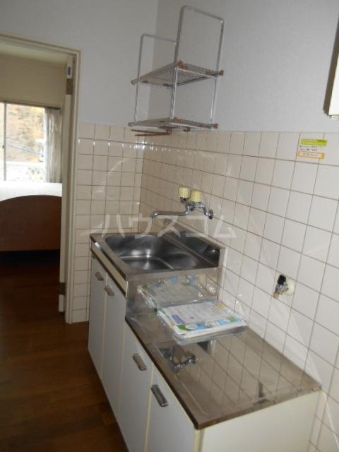 ラ・フォーレ 202号室のキッチン