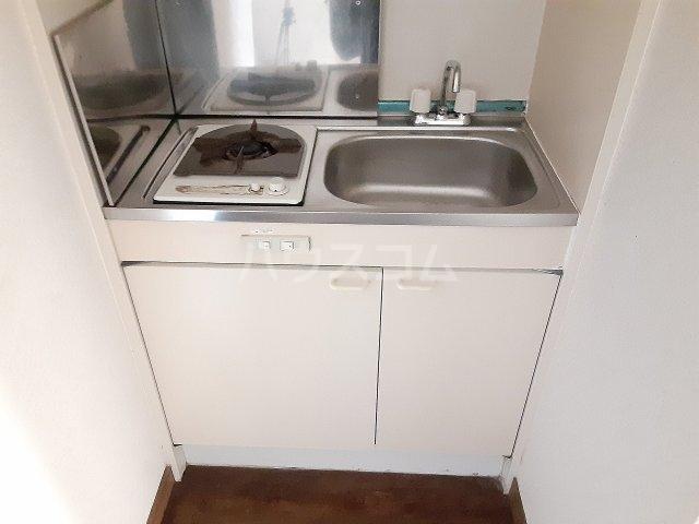 ハイツハツシカ 201号室のキッチン