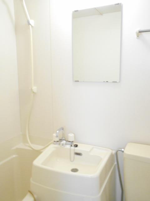 スカイハイム伊藤 102号室の洗面所
