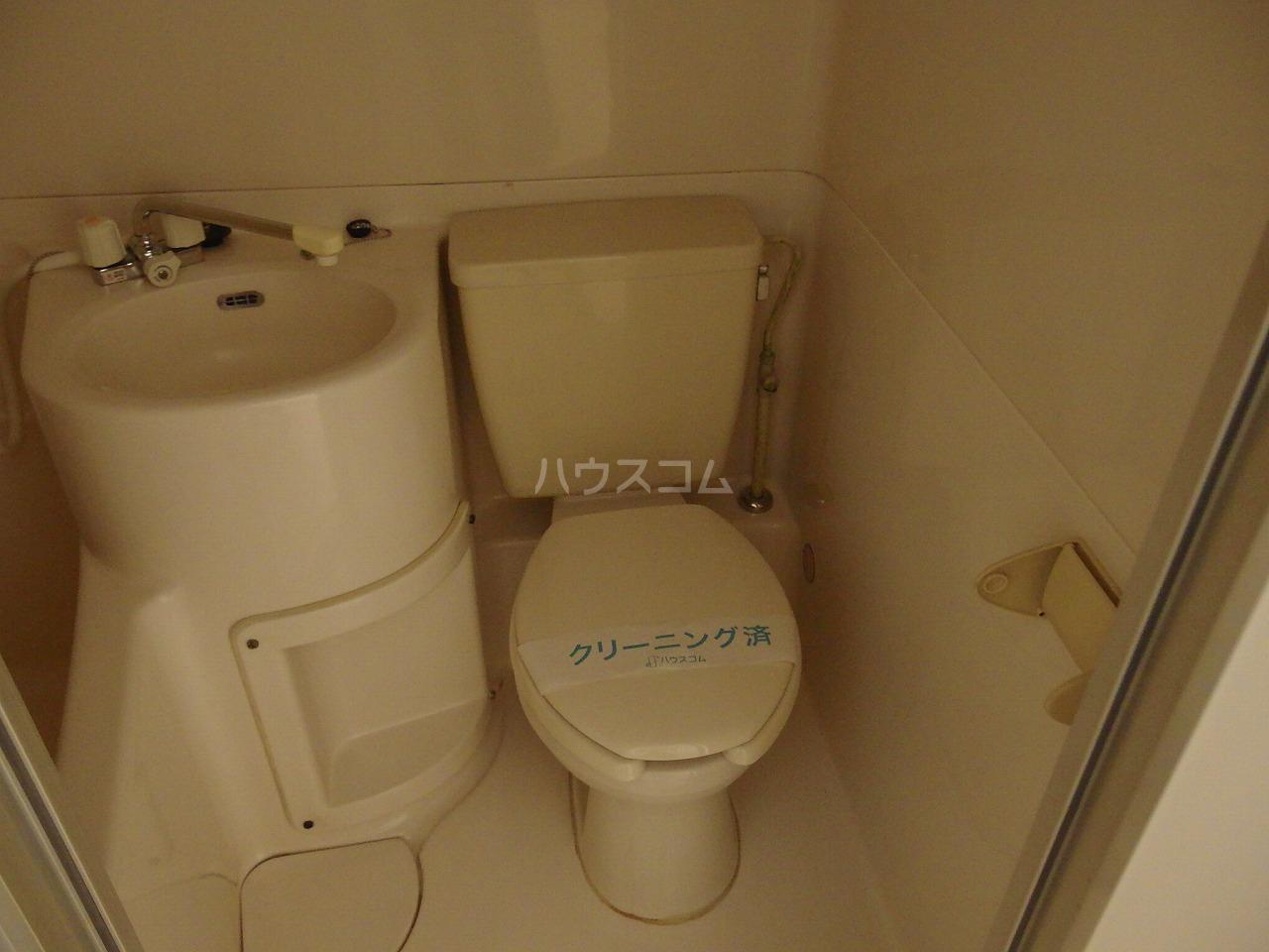 日宝1号館 204号室のトイレ