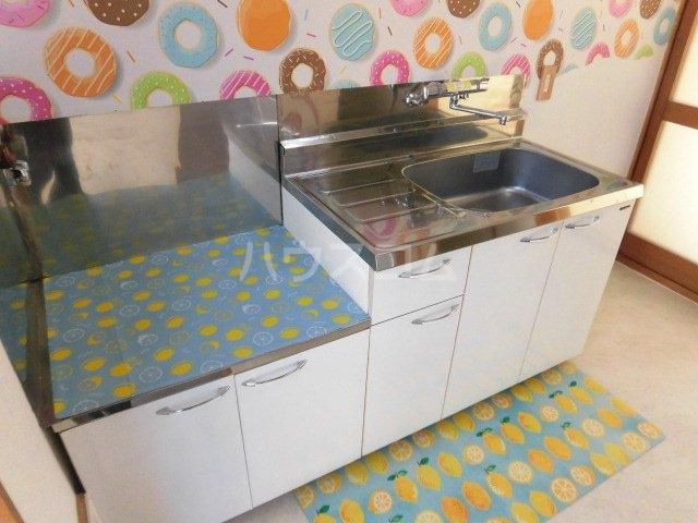 コーポ内藤 15号室のキッチン