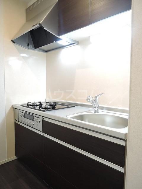 ラフィネⅡ 堀之内 02030号室のキッチン