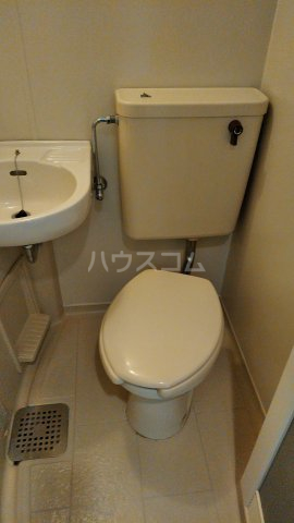 カーサ城南 203号室のトイレ