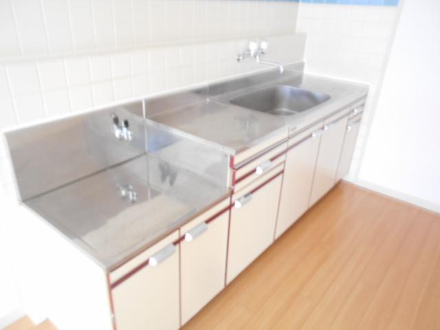シャトルブラウンB 303号室のキッチン