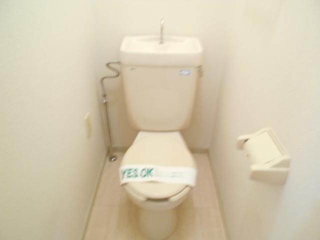 シャトルブラウンB 303号室のトイレ