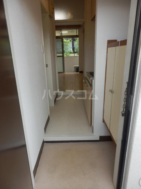 フラット1124 202号室の玄関