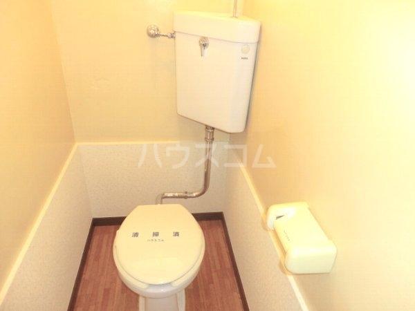 レジデンス南平1号棟 201号室のトイレ