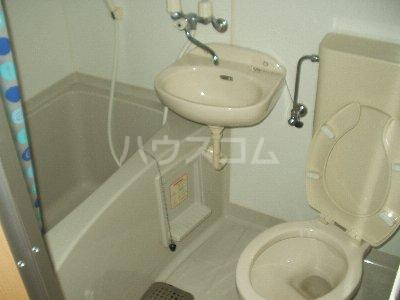 第九コーポ青木 201号室のトイレ