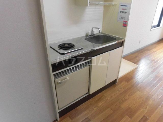横川田口ビル 208号室のキッチン