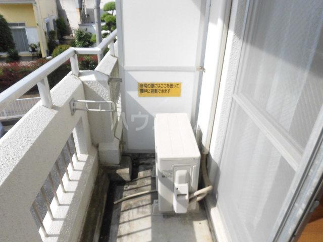 ハイツ東山D 202号室のバルコニー