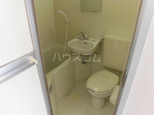 ハイツ東山D 202号室の風呂