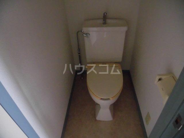 メゾンゆうしん 203号室のトイレ