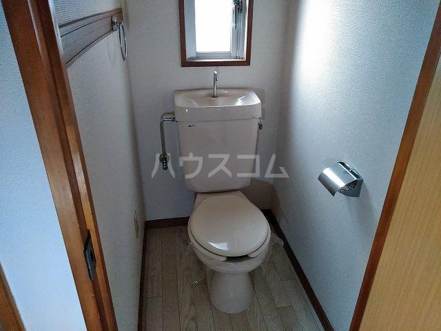 JMヒラ 203号室のトイレ