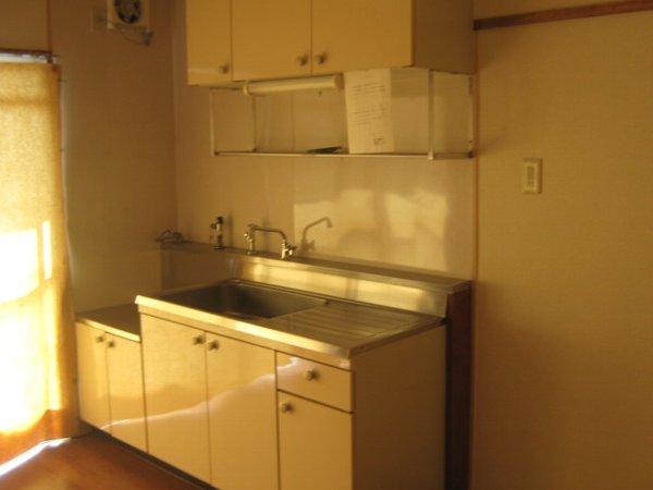 六軒屋農住団地みゆきコーポ 405号室のキッチン