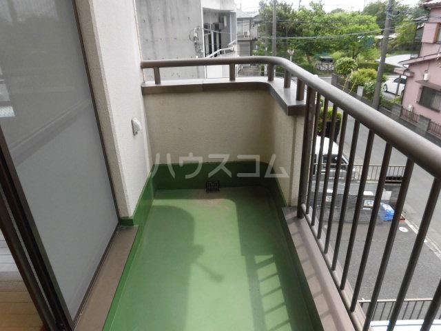 中澤マンション 201号室のバルコニー