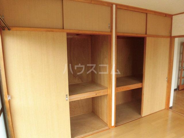 中澤マンション 201号室の収納
