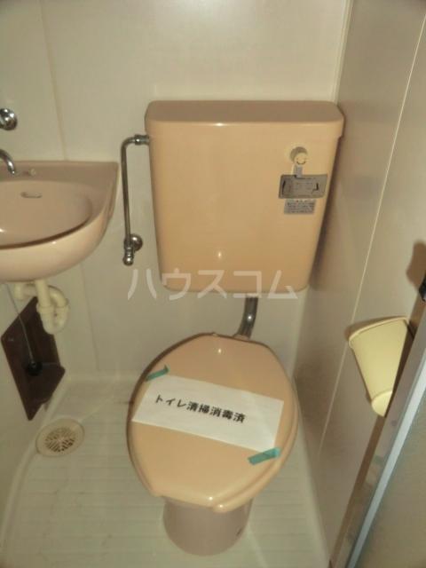 シャトー若杉 305号室のトイレ