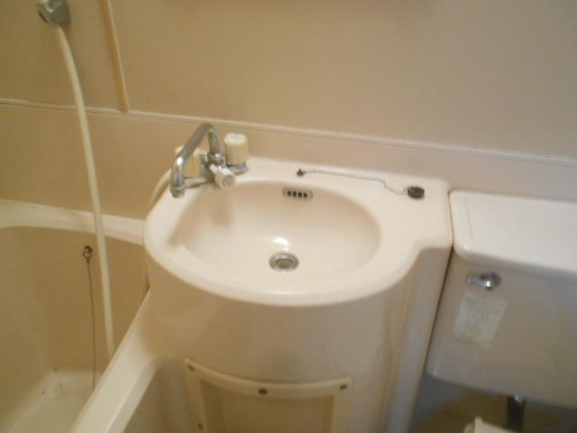 セフィール程久保 106号室の洗面所