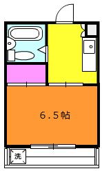 菊井コーポ・305号室の間取り