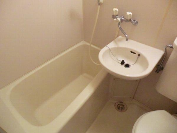 檜の森ハイツ 108号室の風呂