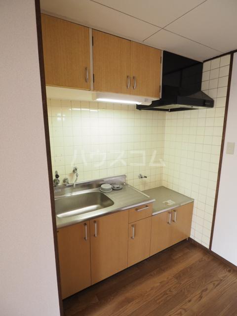 コーポ瑠璃 402号室のキッチン