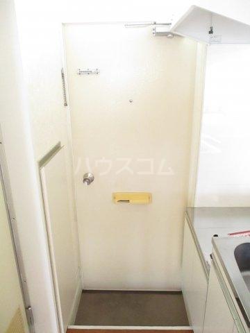 テラス・サム 201号室のバルコニー