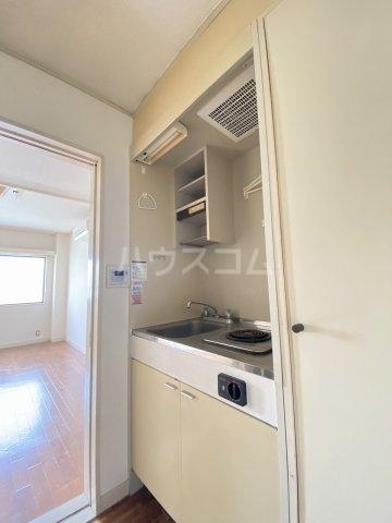 ノーブル 101号室のキッチン