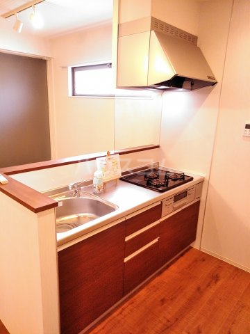 早川コーポ 101号室のキッチン