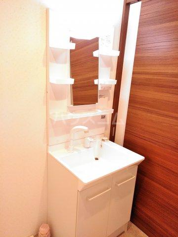 早川コーポ 101号室の洗面所