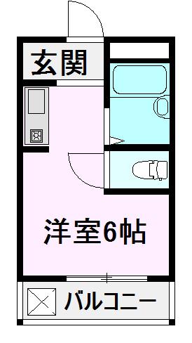 プチマンション江南 302号室の間取り
