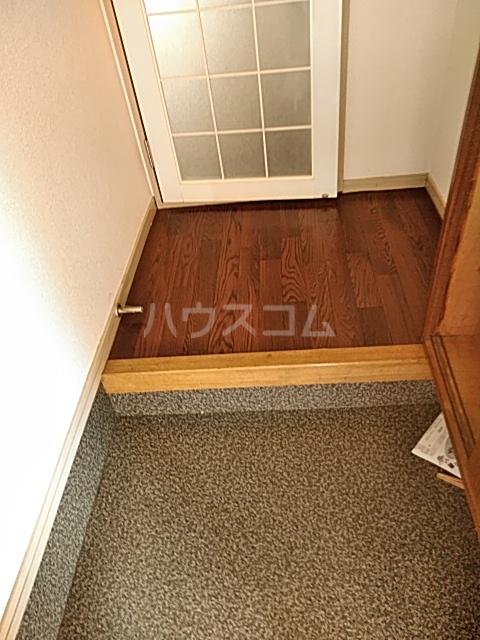 ジョイフル足立 201号室の玄関