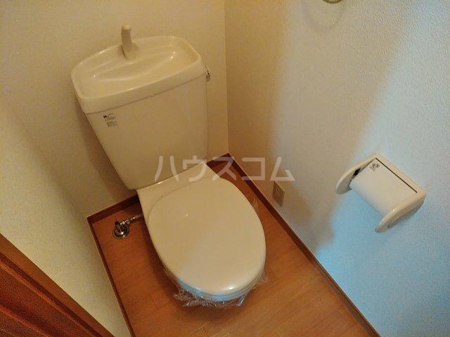 M&Hのトイレ
