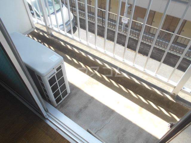 ビューハイツⅡ 204号室のバルコニー