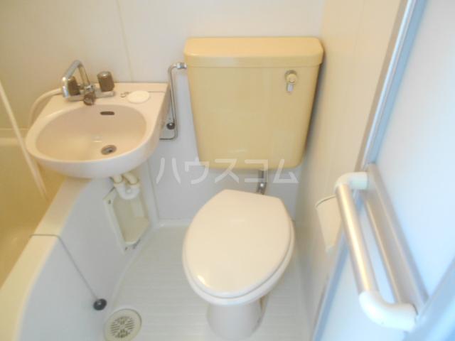 ビューハイツⅡ 204号室のトイレ