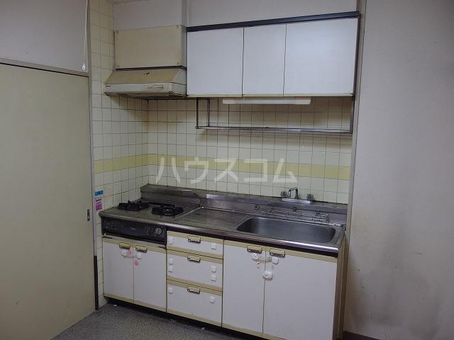 グローリア初穂聖蹟桜ヶ丘 101号室のキッチン