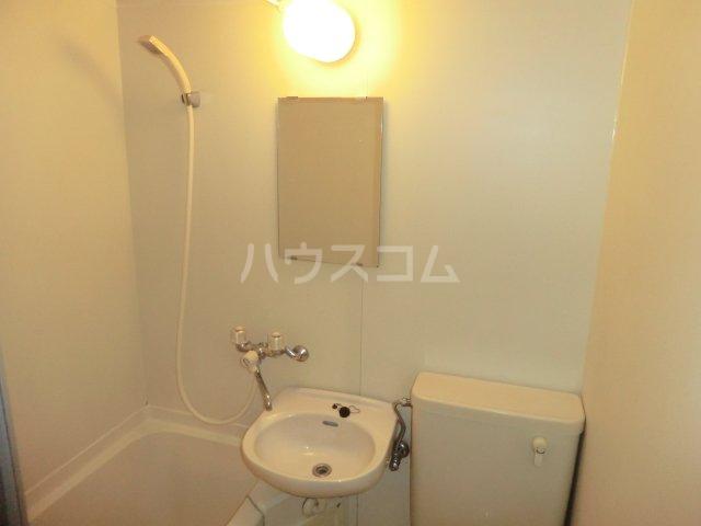 平岡マンション 106号室の洗面所