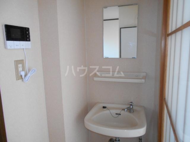 サングリーン 102号室の洗面所