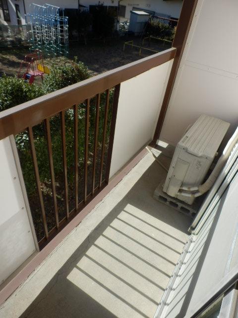 サンハイツ 212号室のバルコニー