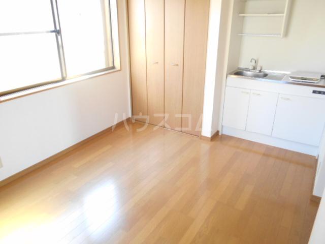 コーポ樹 201号室のキッチン