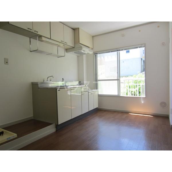 グリーンバレー 102号室のキッチン