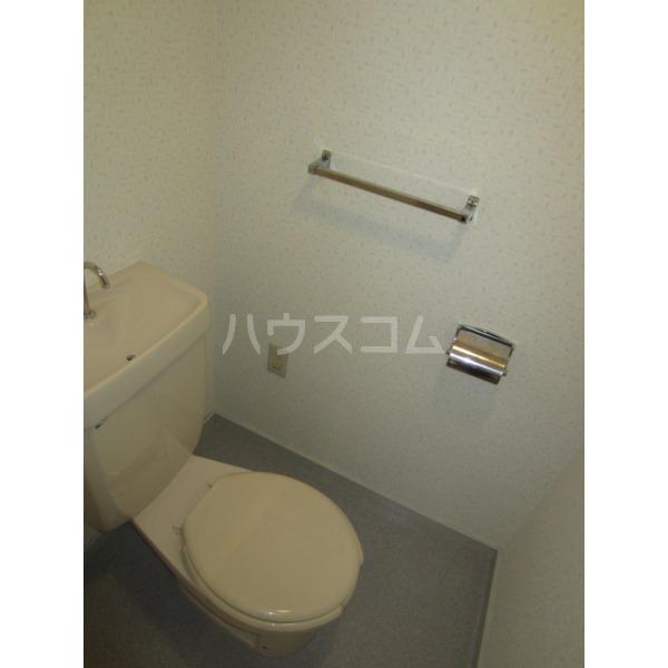 グリーンバレー 102号室のトイレ