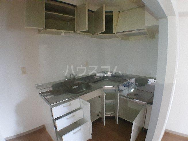コーポY&Y 201号室のキッチン