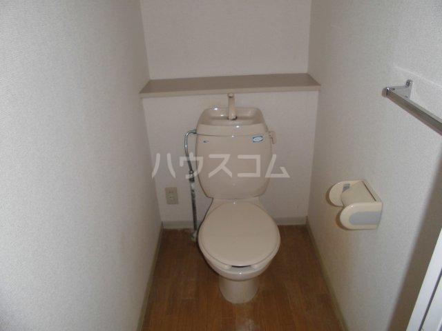 ハーブファミリー 202号室のトイレ