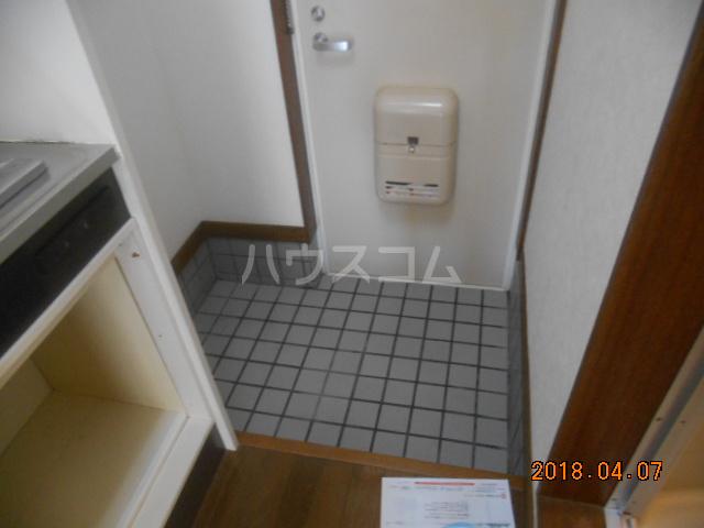 シティハイツ南平 201号室の玄関