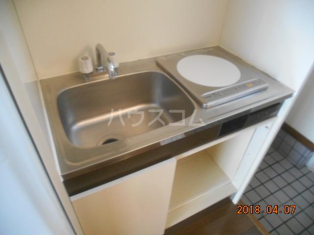 シティハイツ南平 201号室のキッチン