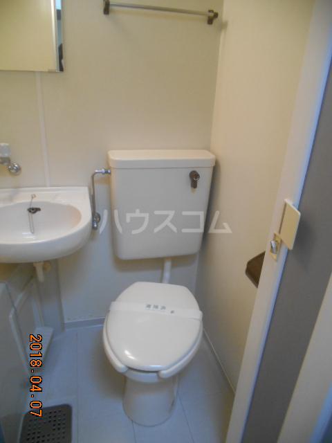 シティハイツ南平 201号室のトイレ