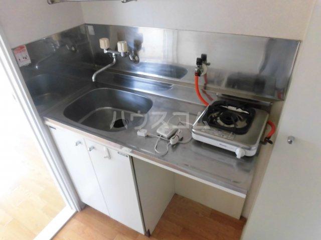 エクセランス滝山B 201号室のキッチン